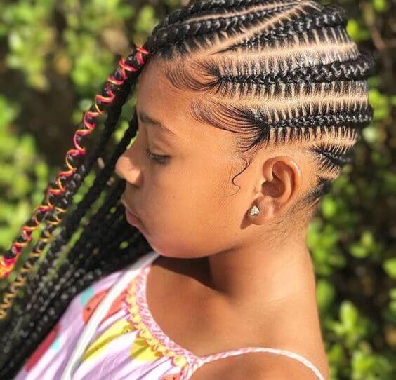 nigerian fulani black braided