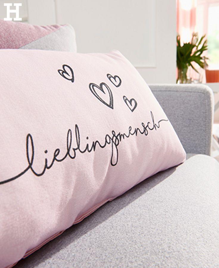 kissen lieblingsmensch hochzeit ideen dekoration geschenke pinterest lieblingsmensch. Black Bedroom Furniture Sets. Home Design Ideas