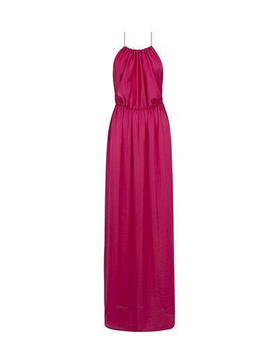 33290d977a18 SuiteBlanco- Vestido largo fruncido | Look for everyone | Vestidos ...