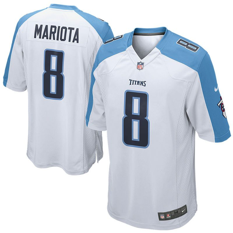 pretty nice 49afa 143c4 Marcus Mariota Tennessee Titans Nike Youth Game Jersey ...