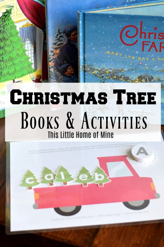 Our Favorite Christmas Tree Books Activities Christmas Books For Kids Book Activities Activities