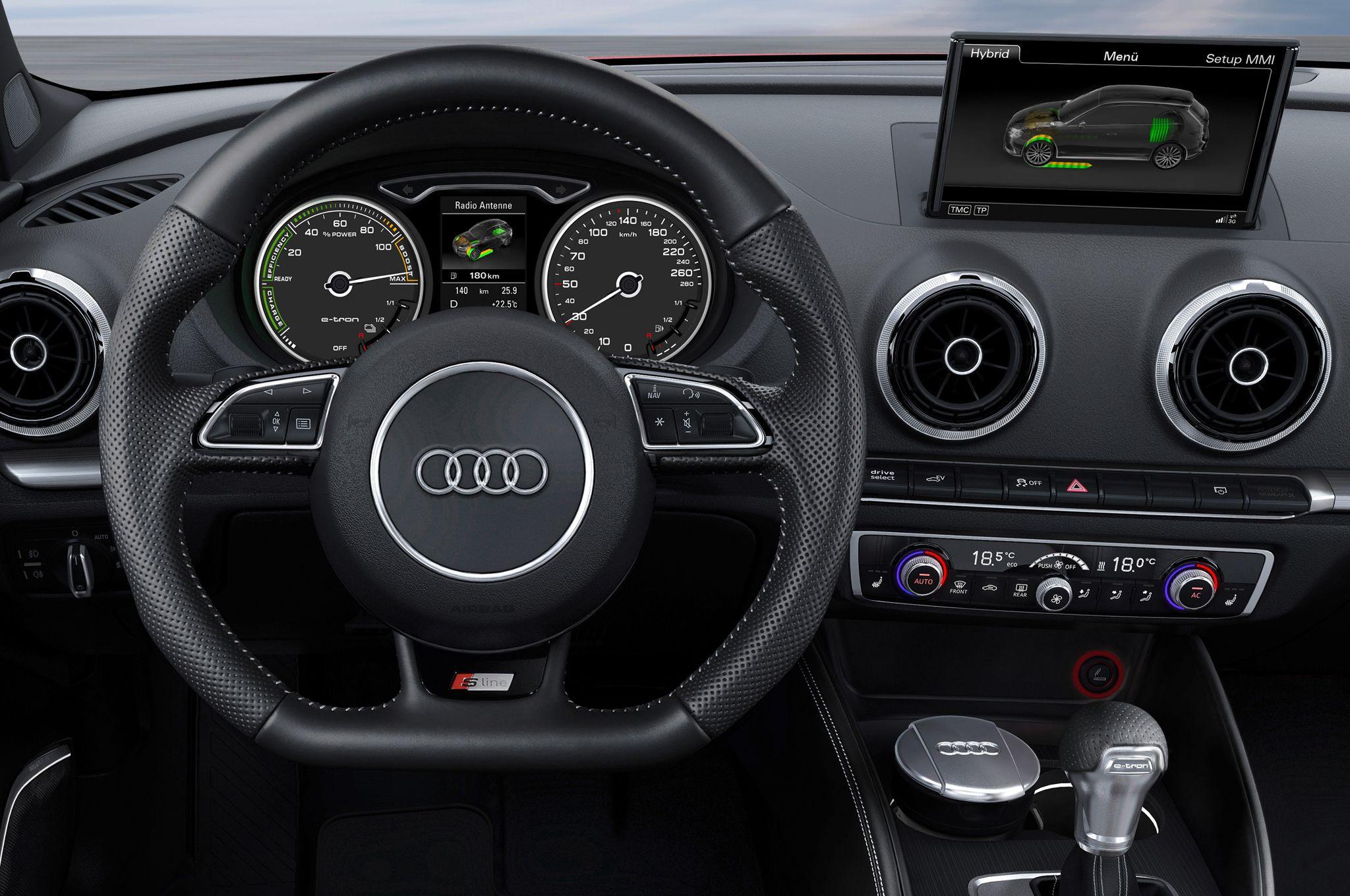 2015 Audi A3 E Tron Interior Prototype Photo Gallery Audi A3 Sportback Audi A3 Price Audi A3