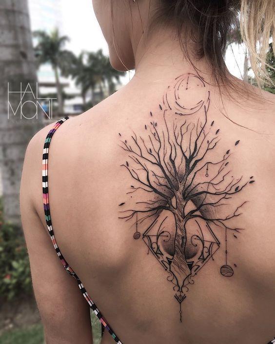 Tatuagens Femininas 2020: Fotos e modelos de tattoos PERFEITAS! #tattoos