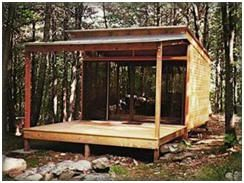Unit One Cabin Kits From Shelter Kit.com   Build Your Own Getaway Home