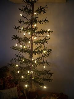 love this wool feather tree