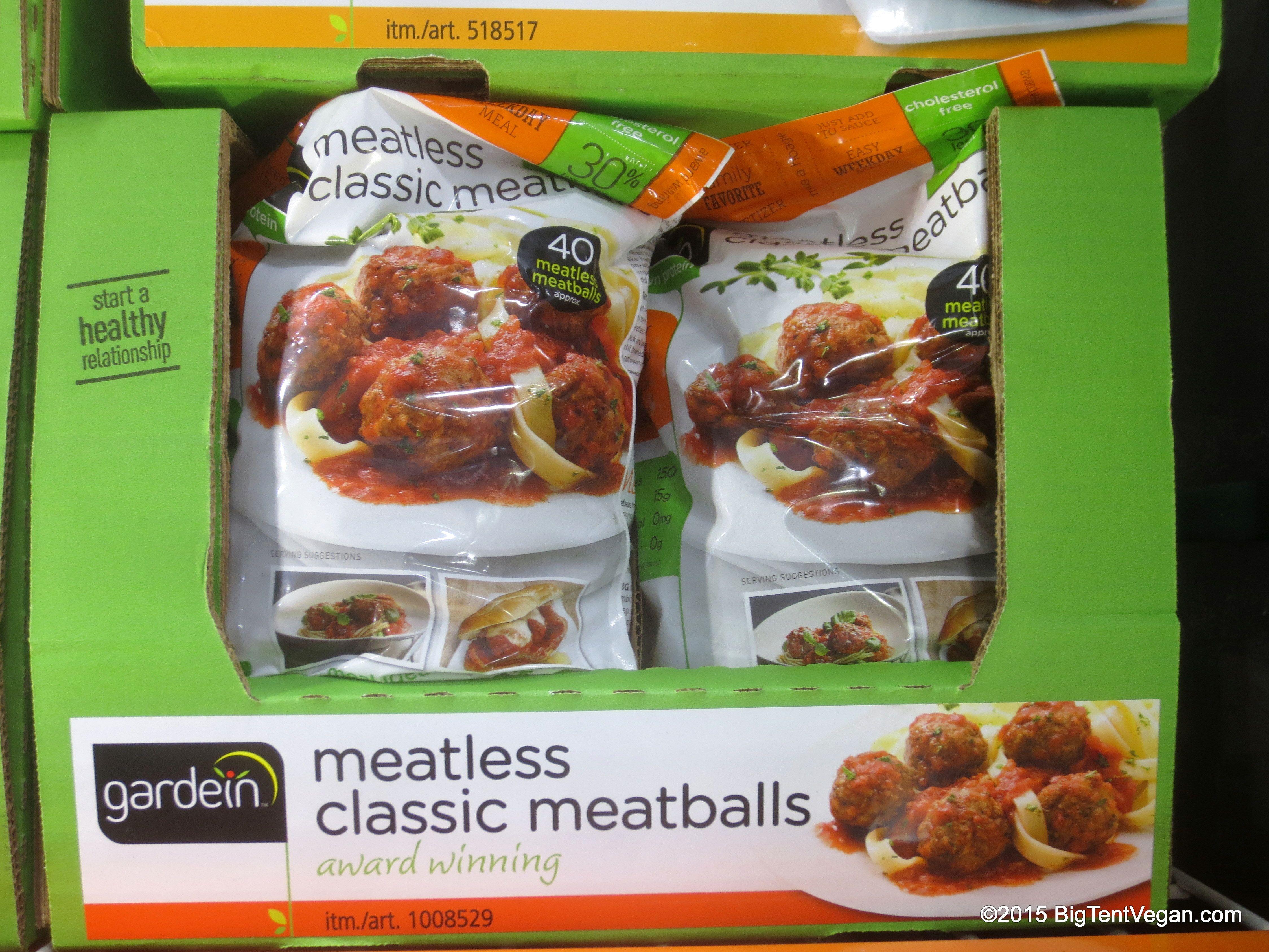 Gardein Meatless Classic Meatballs #costco #vegan #gardein | Vegan ...