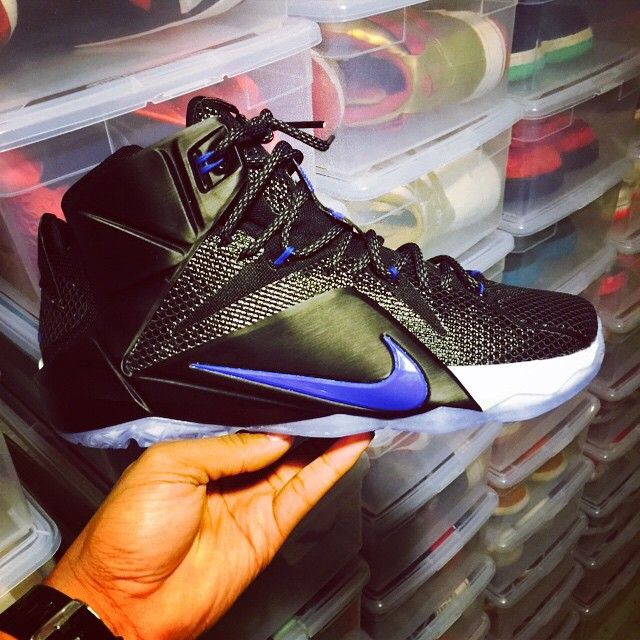 innovative design 45557 0f44f Nike iD LeBron XII 12 Space Jam