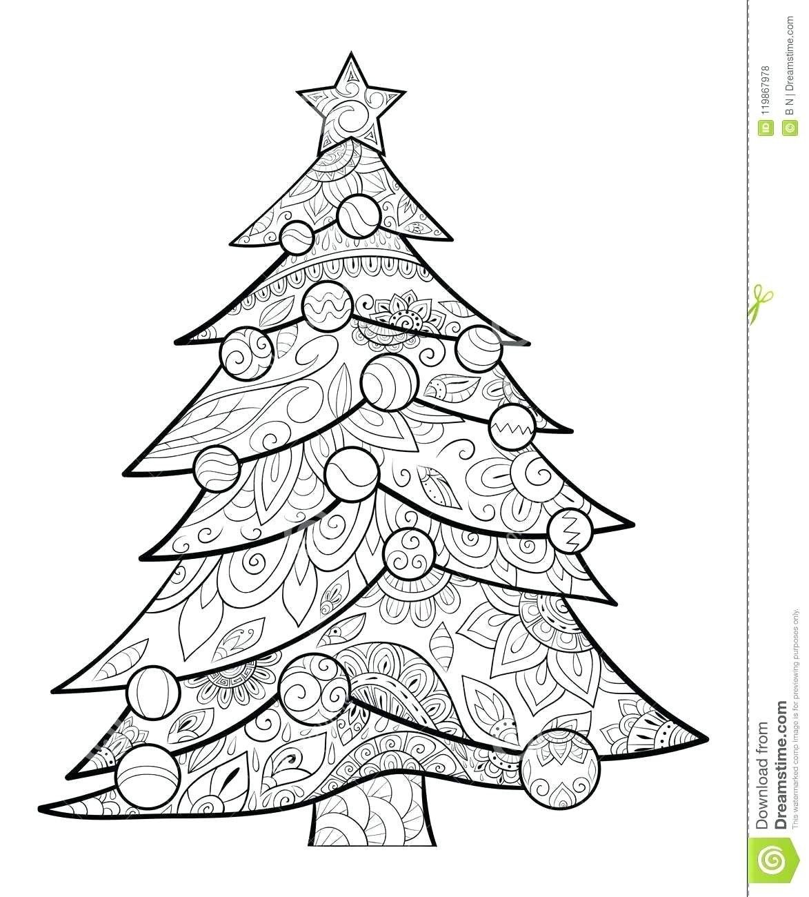 Printable Christmas Tree Coloring Pages Peppa Pig Christmas Tree Coloring Pages Christmas C Tree Coloring Page Christmas Tree Coloring Page Star Coloring Pages