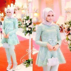 Model Kebaya Muslim Paduan Celana Kebaya Model Kebaya Muslim