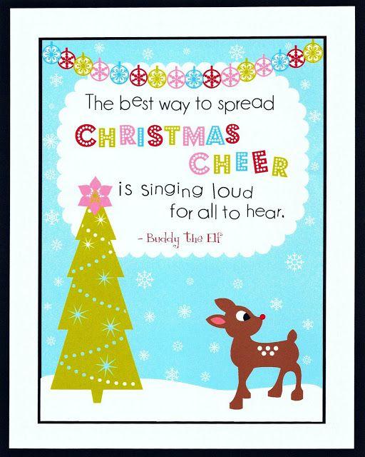 FREE Christmas printables to use as decor - The Frugal Homemaker | The Frugal Homemaker