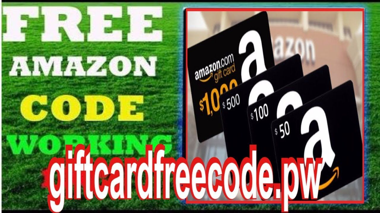 Amazon Gift Card Codes Free Amazon Gift Card How To