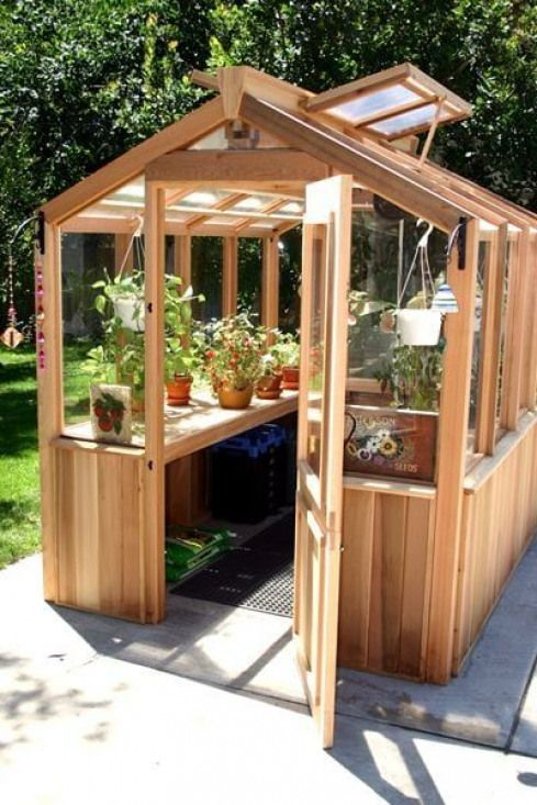 Backyard Wooden Greenhouses And Designs In 2019 Shed Wooden Greenhouses Greenhouse Plants Diy Greenhouse