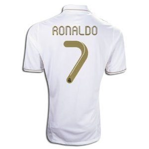 5fcc5fd9b77 7 Ronaldo Real Madrid Home Shirt Jersey 2011 12 (US Size XL) by ...