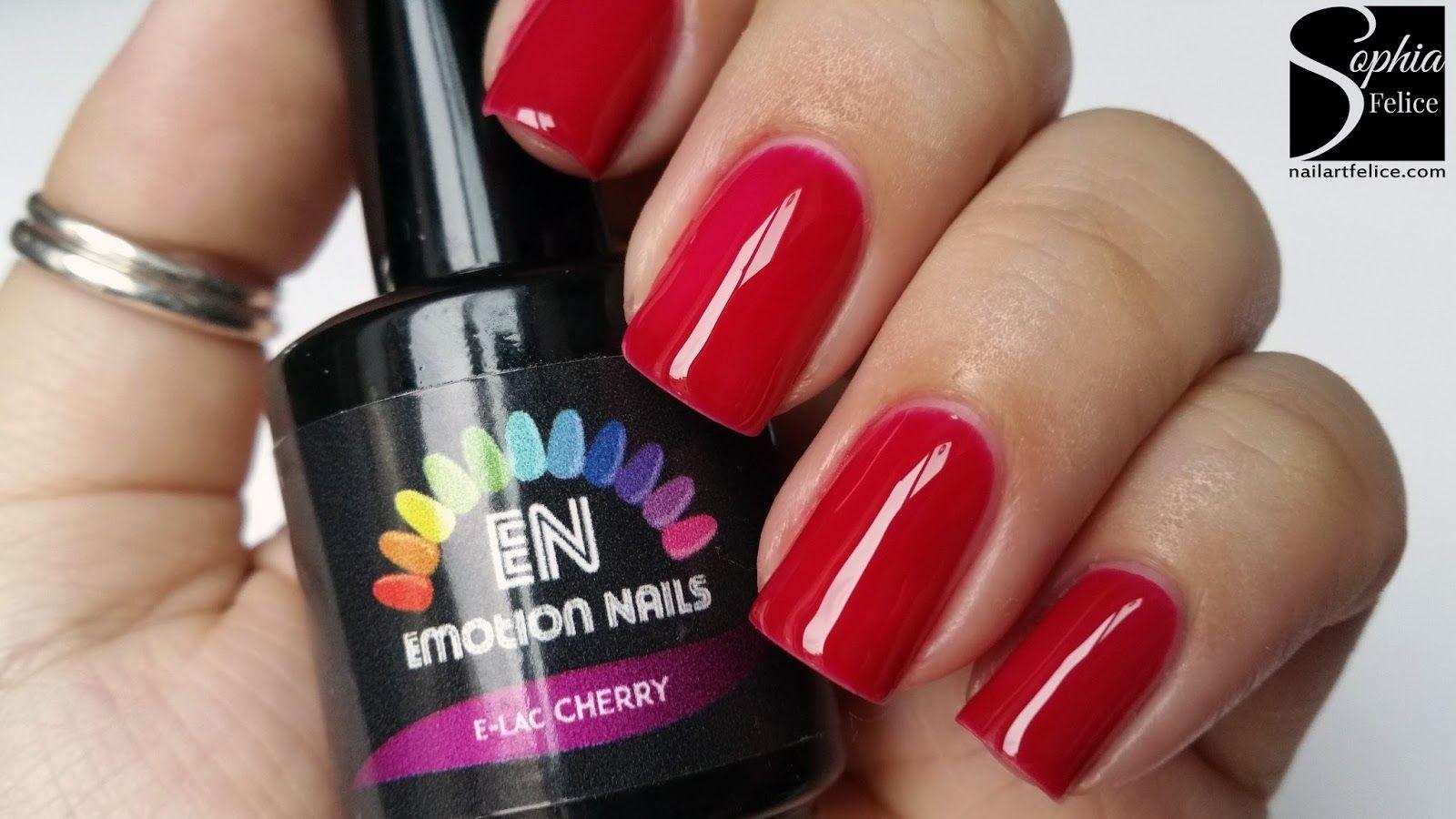 smalto semipermanente e-lac cherry emotion nails_01