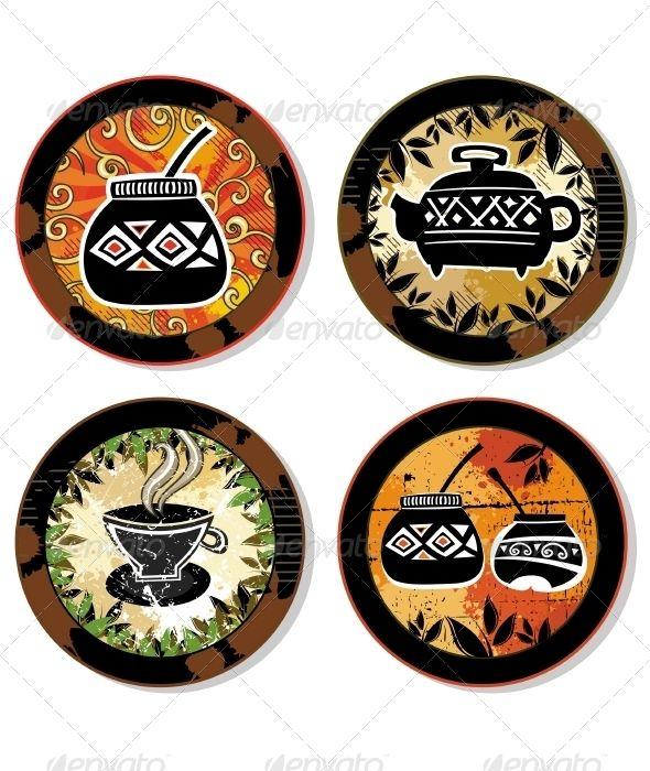 Coffee Drink Coasters Series