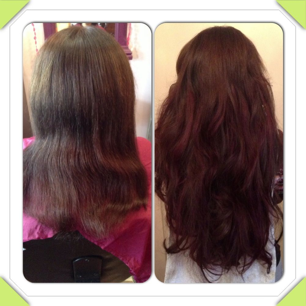 Before And After 24 Great Lengths Hair Extensions By The Great