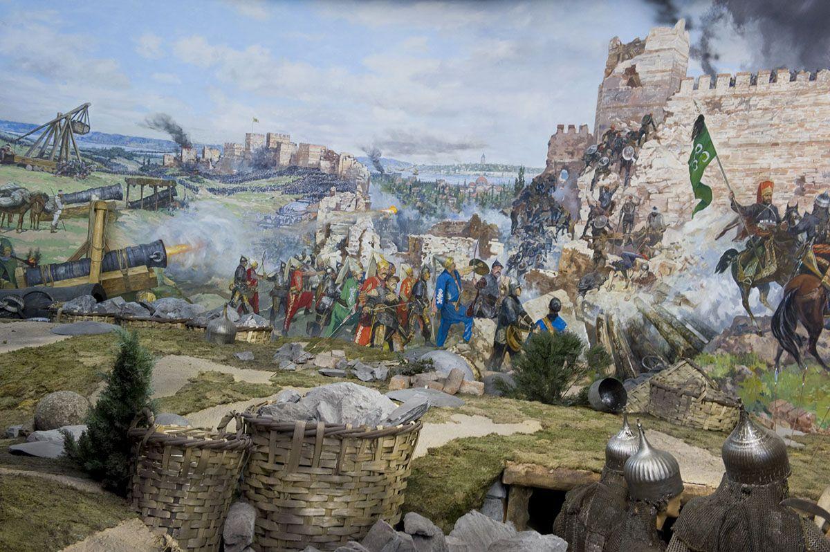 The Siege of Constantinople, 1453 | Istanbul, Tarih, Ordu
