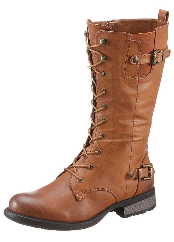 4ecdd45b6437 Long Lace Up Boots by Rieker | Rieker Shoes | Shoes, Fashion boots ...