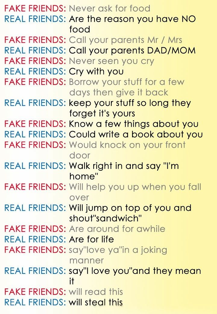 Pin by Emma Oakes on Just Stuff I like! | Fake friends, Real
