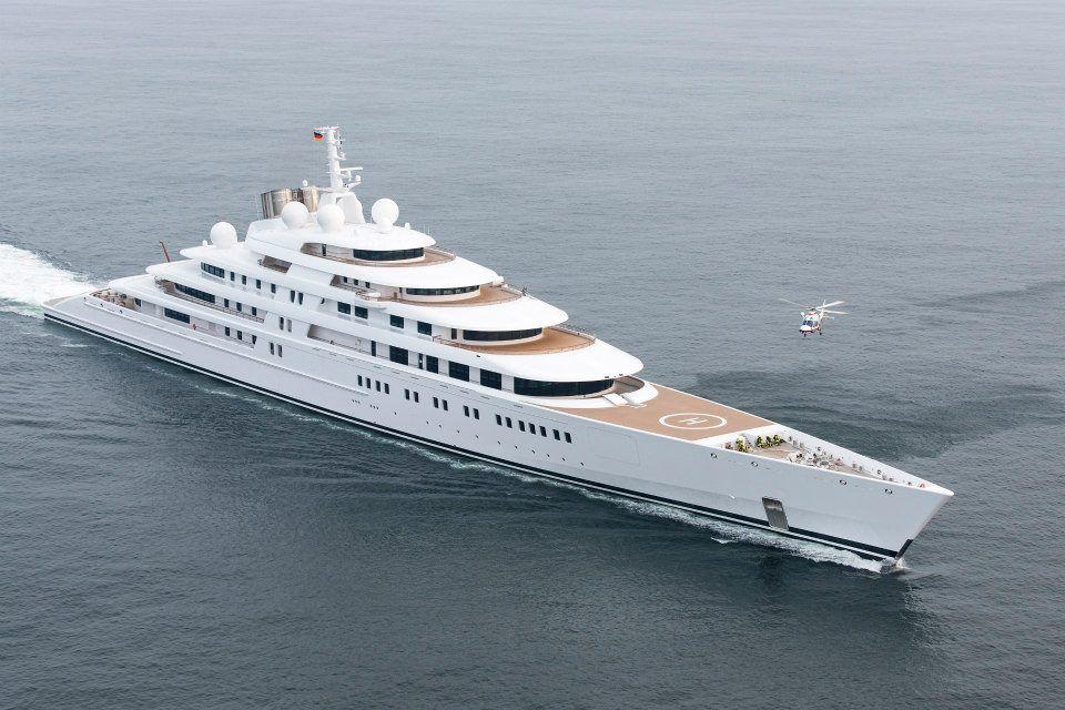 Mega Yacht Azzam by Lurssen