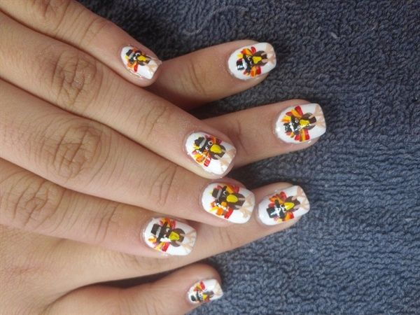 14 cool happy thanksgiving nail designs httpslodive 14 cool happy thanksgiving nail designs httpslodiveinspiration prinsesfo Choice Image
