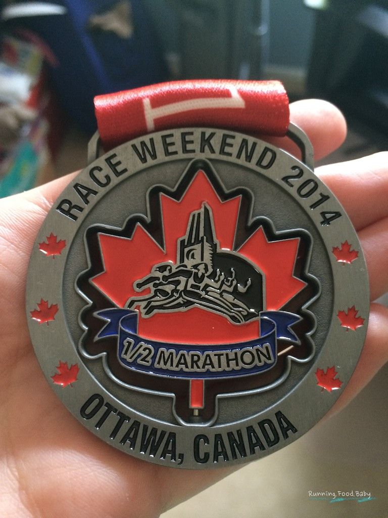 Ottawa Race Weekend Half Marathon Race Recap