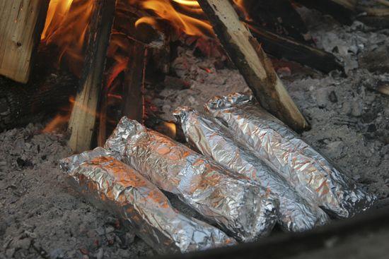 #HowTo Make Campfire-Ready Breakfast Burritos