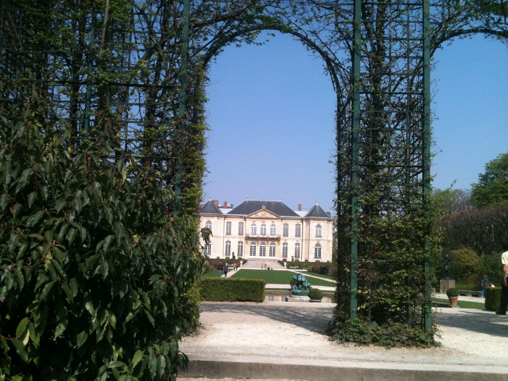gardens musee rodin - Google Search