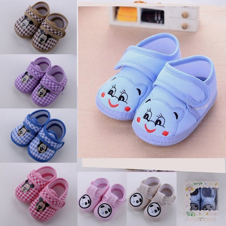 Nice Heart Shaped Print Baby Shoes Baby