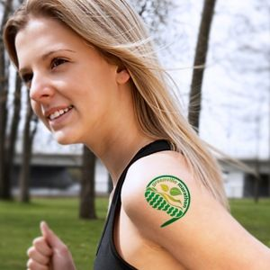 Sell temporary tattoos as fundraiser for sports team, charities, events #promotionalideas #temporarytattoos