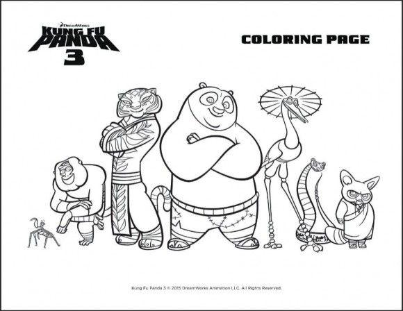 Dreamworks Kung Fu Panda 3 Trailer And Party Printables Panda Coloring Pages Kung Fu Panda Kung Fu Panda 3
