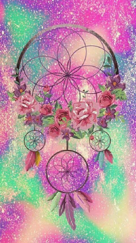 Dream Catcher   Fond d'écran téléphone, Image colorée, Dessin attrape reve