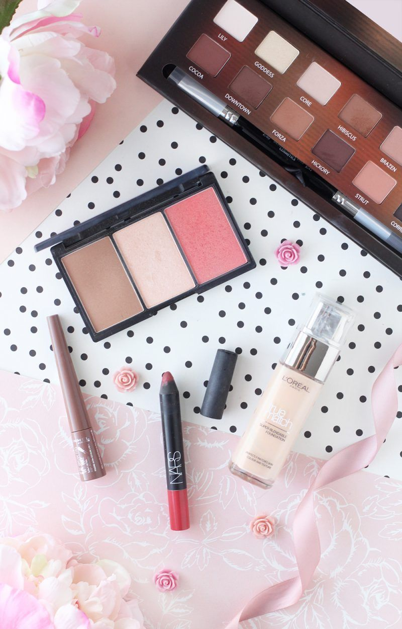 Testing Out Some New Makeup From Blank Canvas Cosmetics Sleek Nars Rimmel And L Oreal Flatlay From The Makeup Directory Www Themakeupd Makeup Beauty Loreal