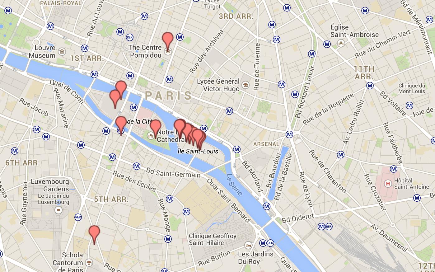 Roteiro de dias em paris