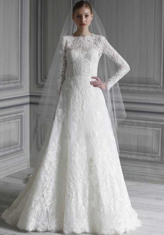 Monique Lhuillier Catherine A-Line Wedding Dress | One Dress to Rule ...