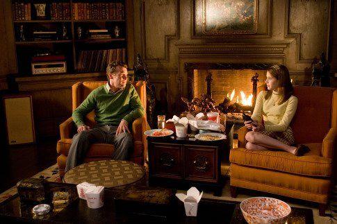 Still of Tate Donovan and Emma Roberts in Nancy Drew