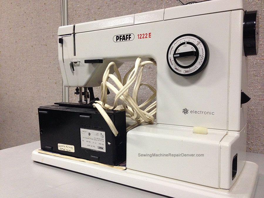 Pfaff Vintage Sewing Machine Repair