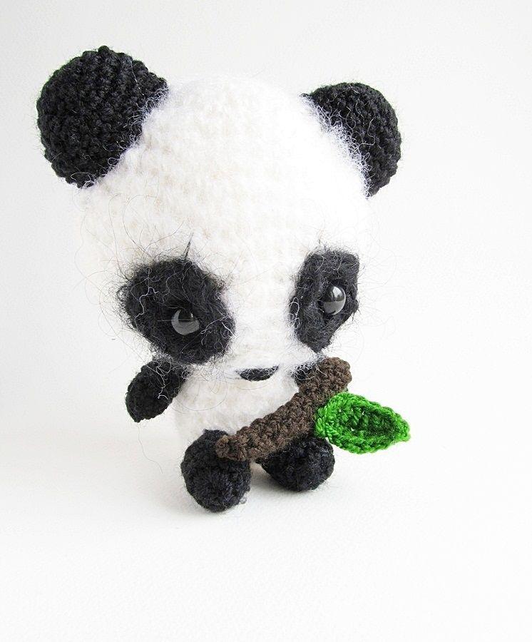 Amigurumi Miku the Panda Free Crochet Pattern through TheYarnBox.com ...
