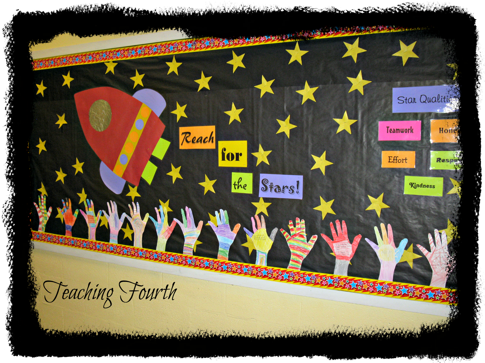 Classroom Decor Stars : September bulletin board ideas are probably familiar