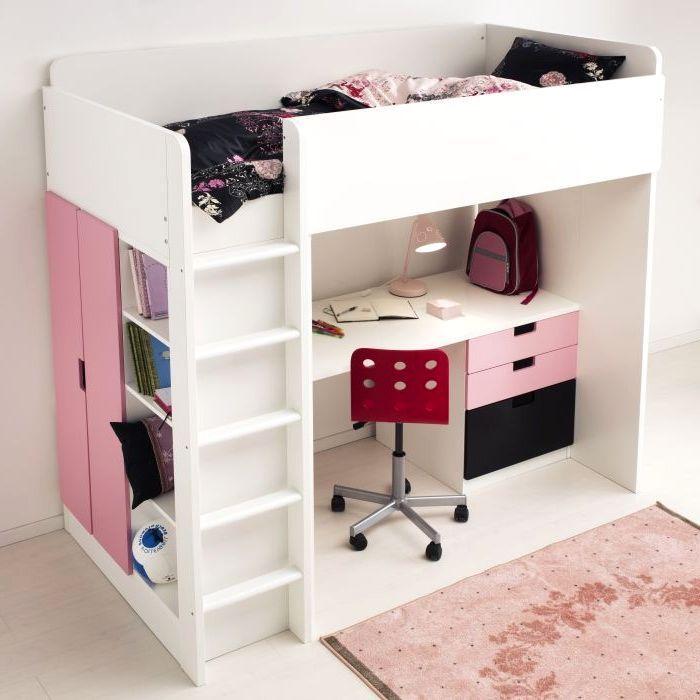 Ikea Stuva Loft Bed Furniture Kit Picture Stuva Loft Bed Diy Loft Bed Girls Loft Bed