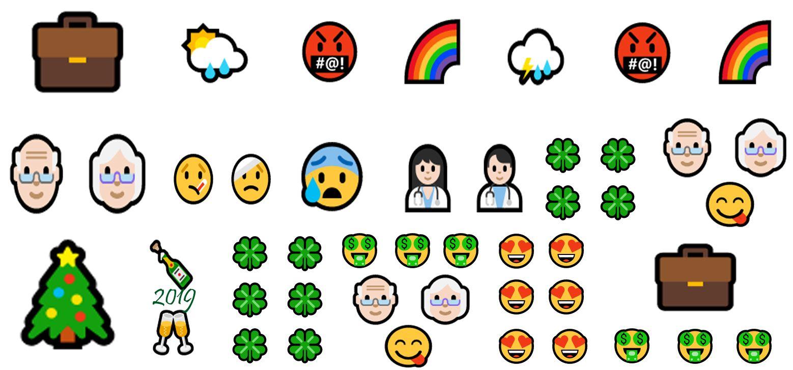 Eva Gonzalez On Twitter Emoji Gonzalez Evolution