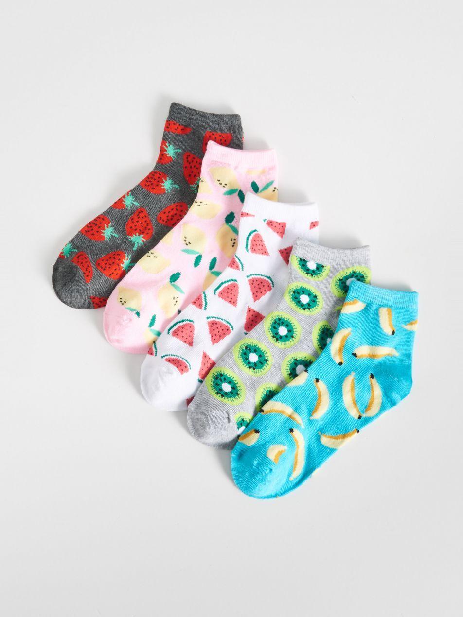 șosete Cu Motiv Cu Fructe Multicolor Vg522 Mlc Sinsay 1 Socks Bags Shoe Bag