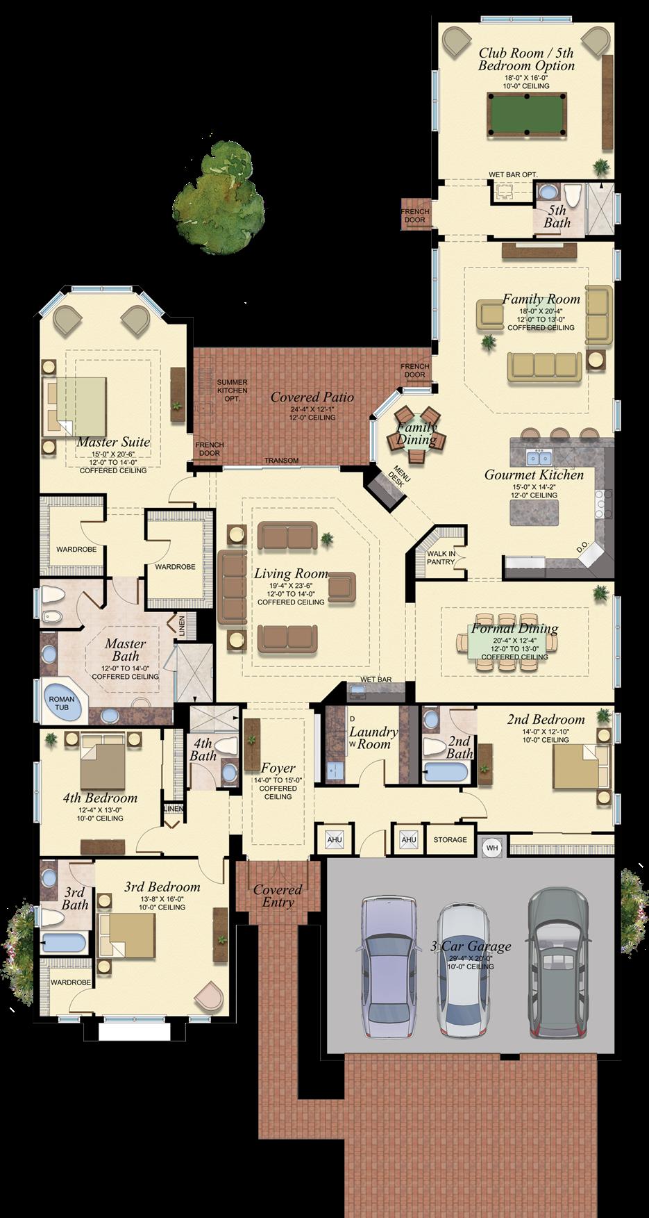 Charleston Grande 757 Floor Plan Ideas For The House