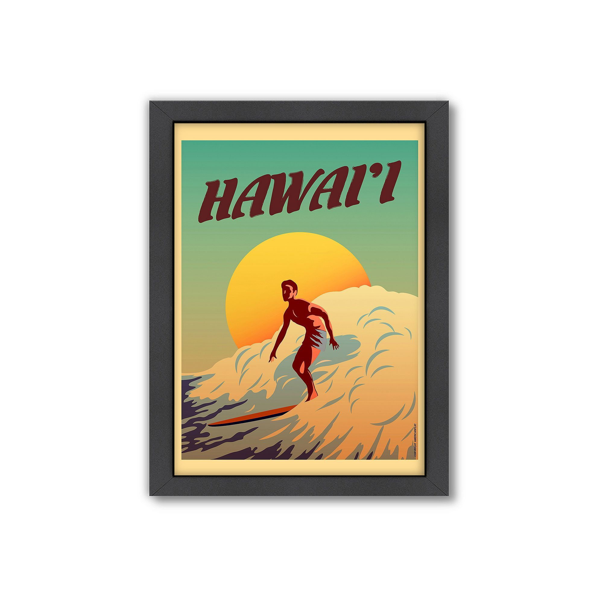 Fine Surf Wall Art Contemporary - The Wall Art Decorations ...