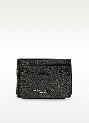 hot sale online d6623 5e193 MARC JACOBS Gotham City Hammered Leather Card Holder. #marcjacobs ...