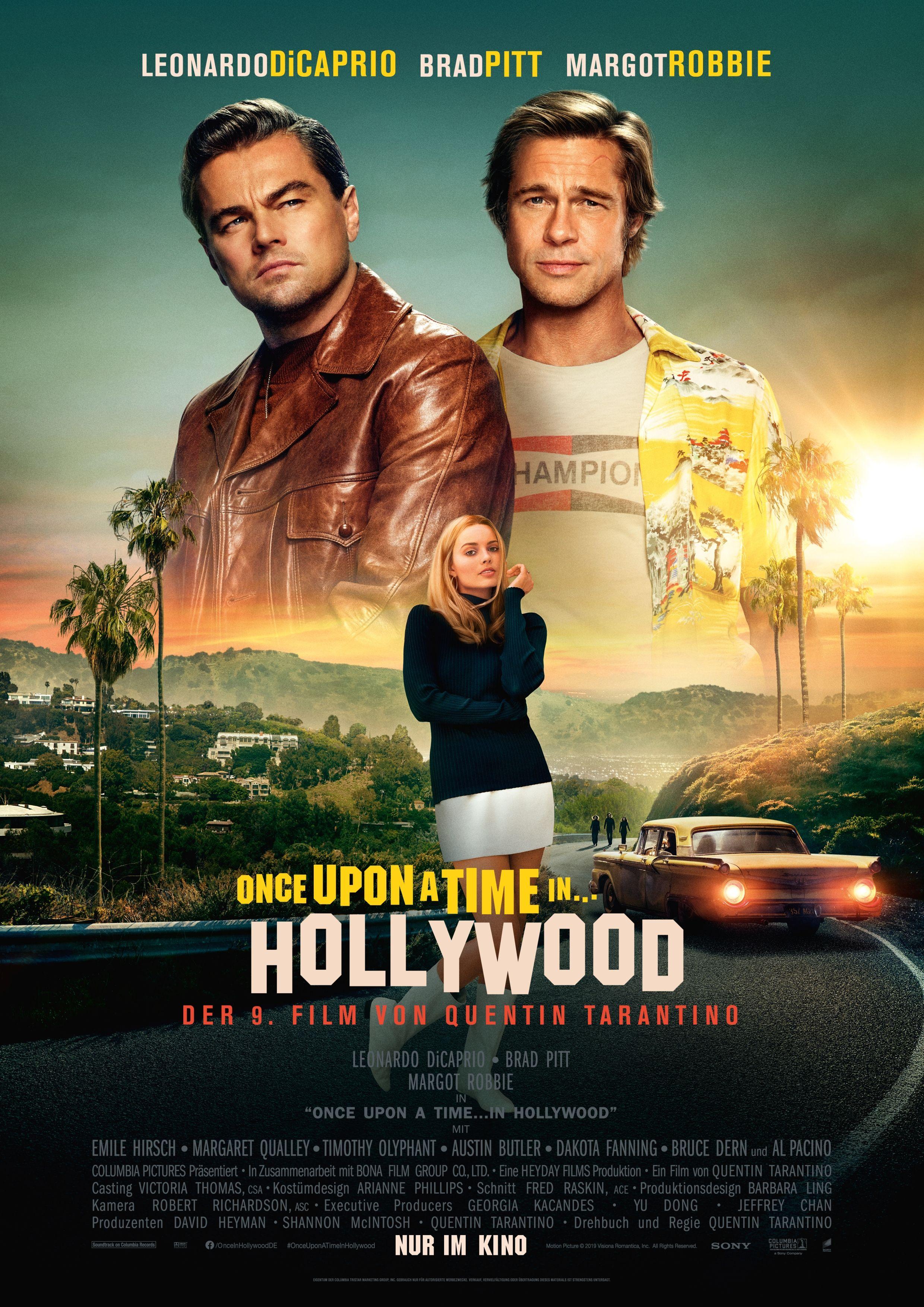 Once Upon A Time In Hollywood Ist Ein Tragikomödie Von