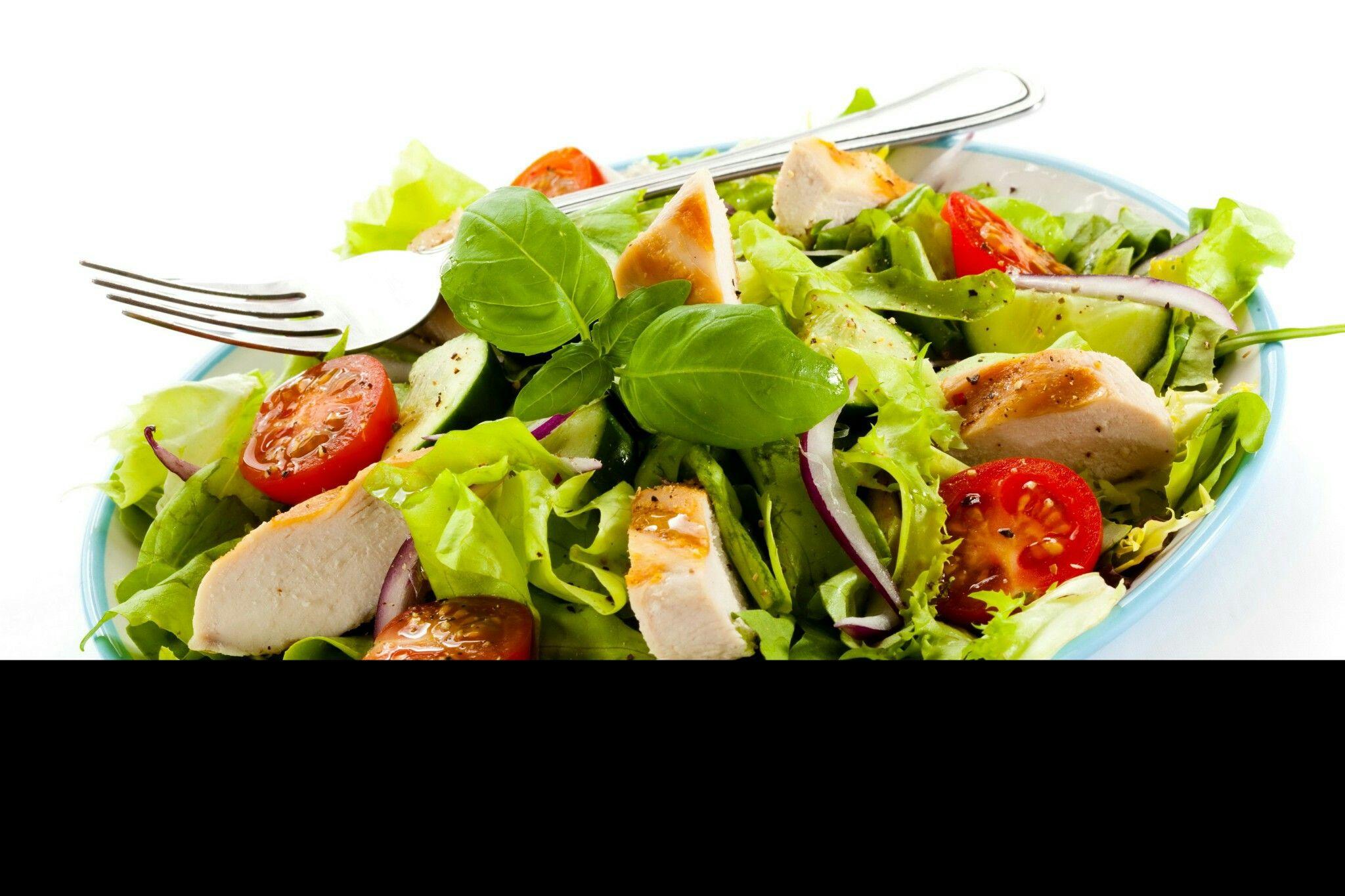 Generic salad, Blake wants to make it