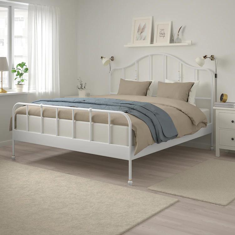 IKEA SAGSTUA Bed frame in 2020 Bed frame, Comfort