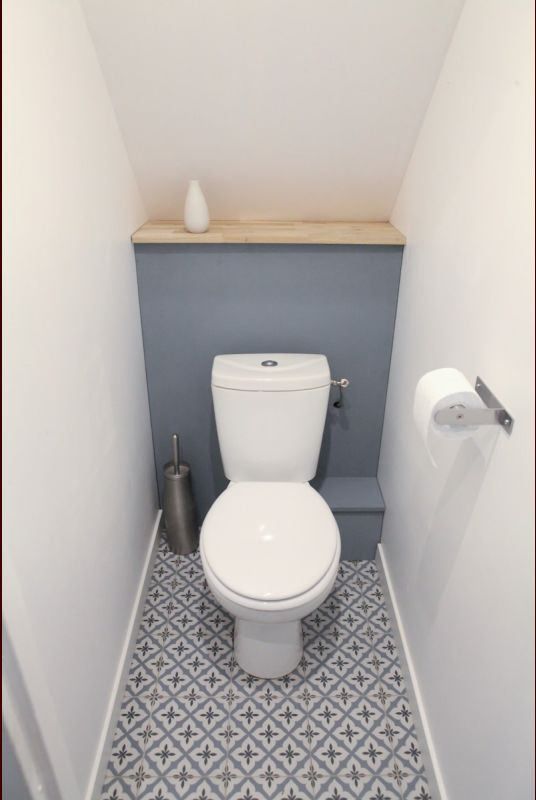 Lighting Basement Washroom Stairs: Cloakroom Toilet Downstairs