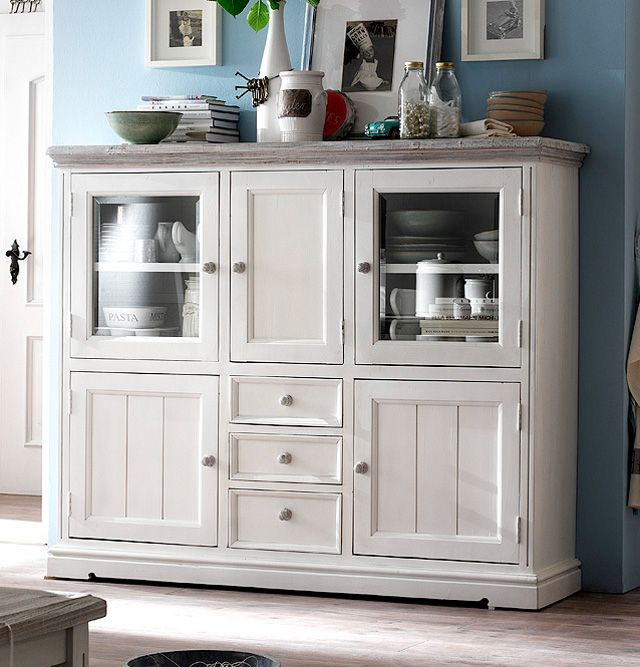 Billig Highboard Landhausstil Einrichtung In 2019 Pinterest